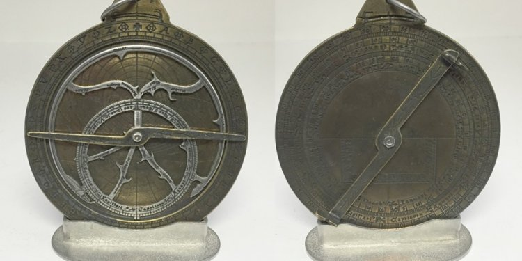 An astrolabe, an early piece