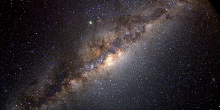New Galaxy Discovered Orbiting