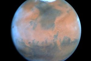 Mars researchers are focusing both Earth-based and planet orbiting sensors to better understand sources of methane on the red planet. Image