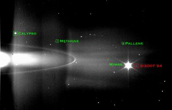 New 60th Moon of Saturn Discovered