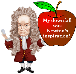 Newton and his apple