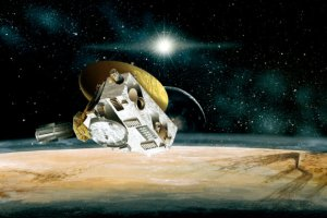 One year ago, NASA's New Horizons space probe entered the history books by exploring the Pluto system. Image credit: NASA / Johns Hopkins University Applied Physics Laboratory / Southwest Research Institute.