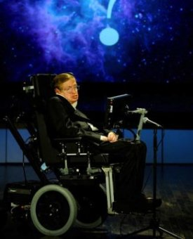 Professor Stephen Hawking speaks about