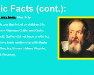 What did Galileo Galilei discovered?